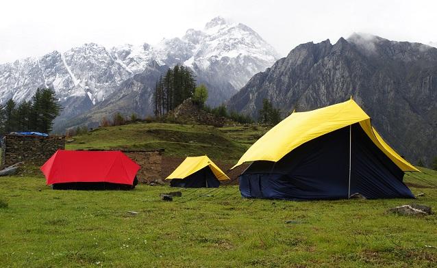 himalaya trekking to padhar got