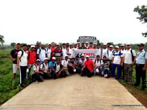 Trekkers Exploring Kathotiya with Junoon
