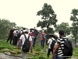 Monsoon Trekking in Bhopal