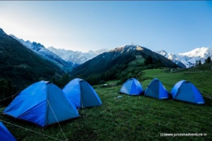 Kugti Valley Himalayan Trekking Camp